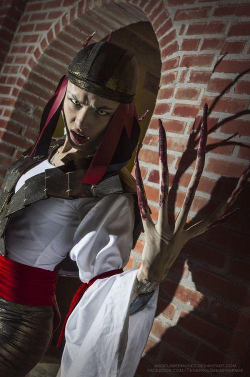 Angela Bermúdez deviantart incríveis cosplays filmes games linda nerd Yuriko Oyama, Lady Letal (Wolverine's enemy at comics)