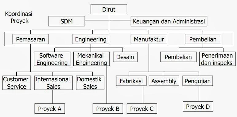 Contoh Struktur Organisasi Fungsional