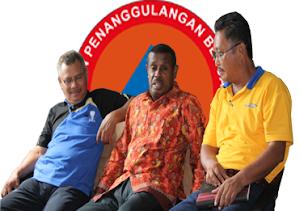 Kadir Hasan (Sek), Dani Mano (Kalak Lama), B. Lamia (Kalak Baru)