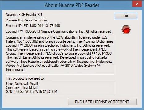 MENGUBAH FILE PDF KE DALAM FORMAT WORD DENGAN NUANCE PDF READER 8