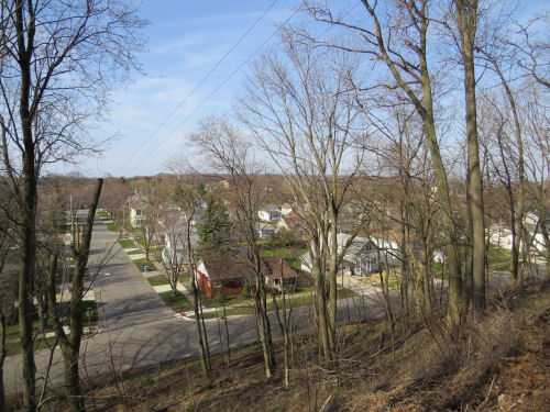 Manistee residential area