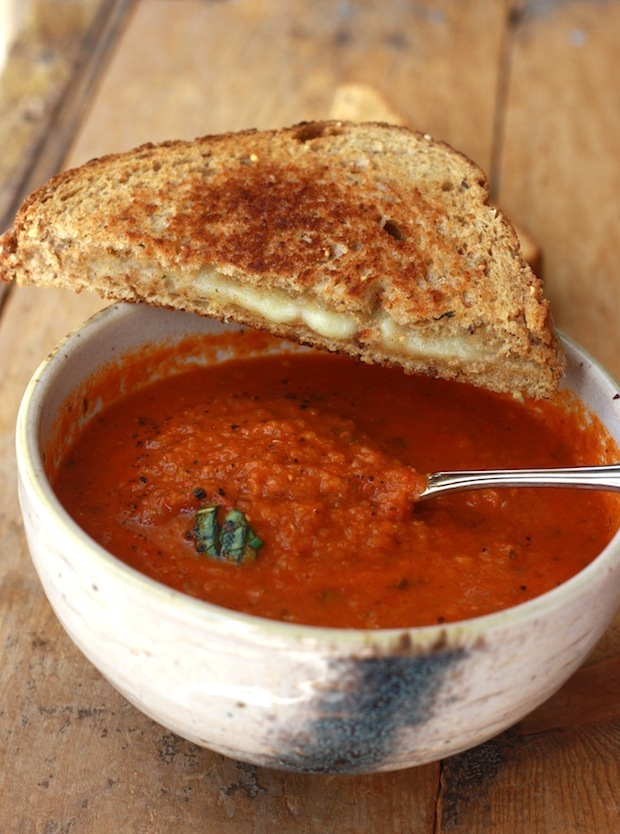 Tomato Basil Soup by SeasonWithSpice.com