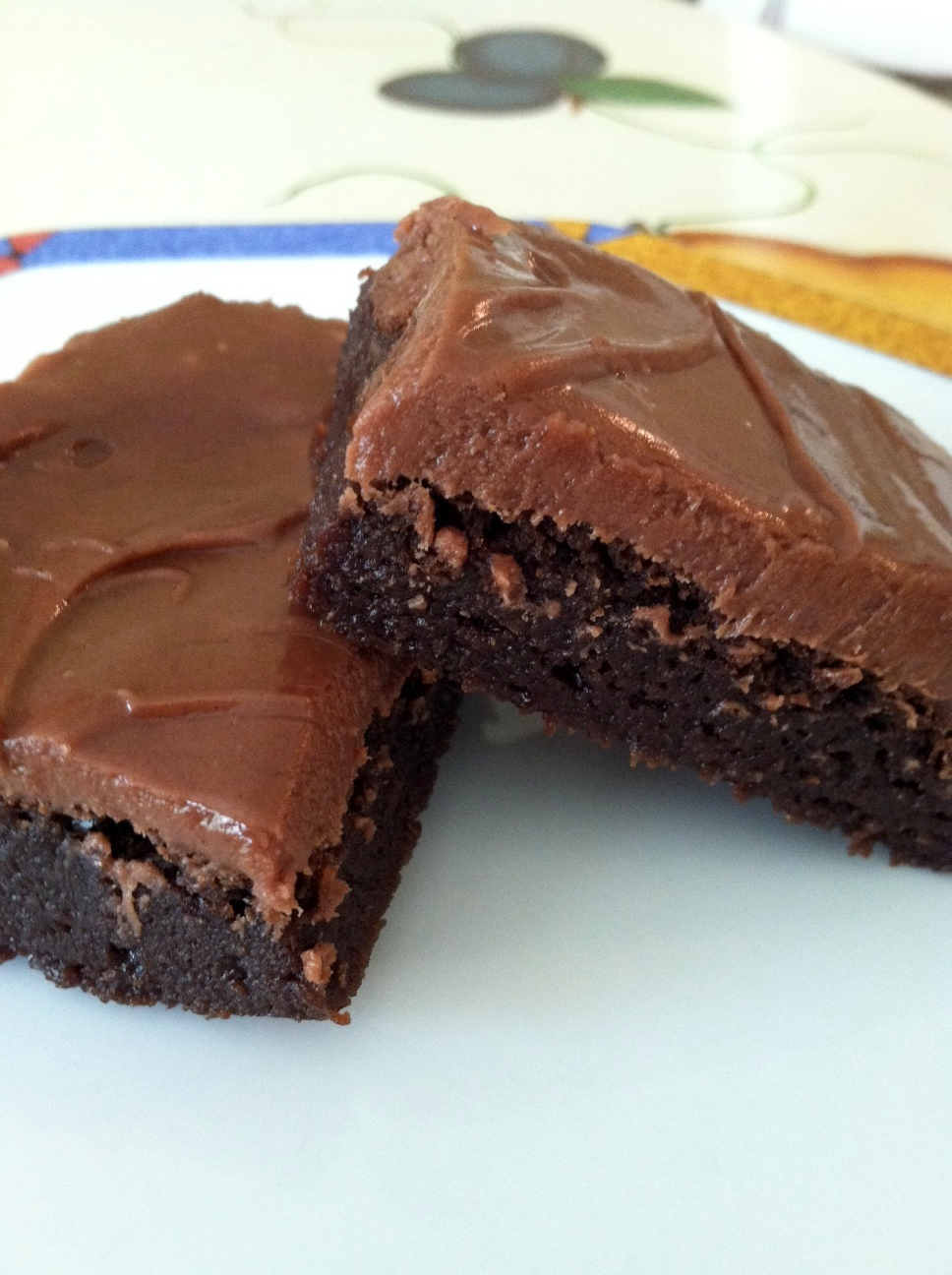 The Friendly Table: Chocolate Truffle Brownies: The Water Bath!
