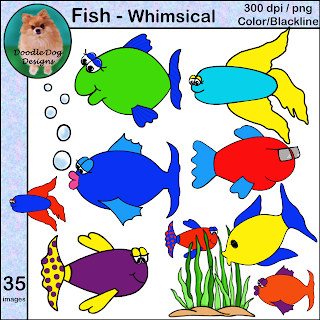 https://www.teacherspayteachers.com/Product/FISH-CLIP-ART-2200646