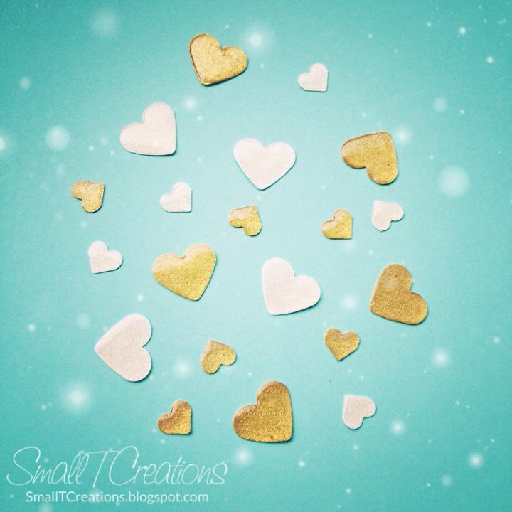 DIY Glitter Enamel Hearts Tutorial - Coming Soon! | Small T Creations