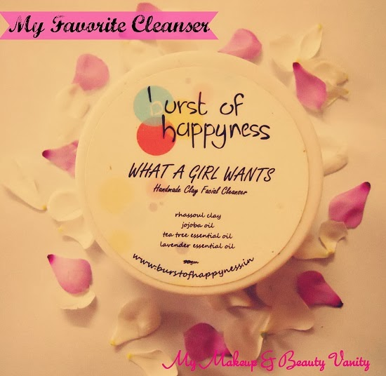 Burst Of Happyness What a Girl Wants Cleanser+best face wash+best cleanser for acne