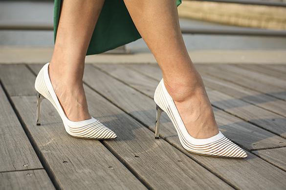 Sexy White Pump Heels
