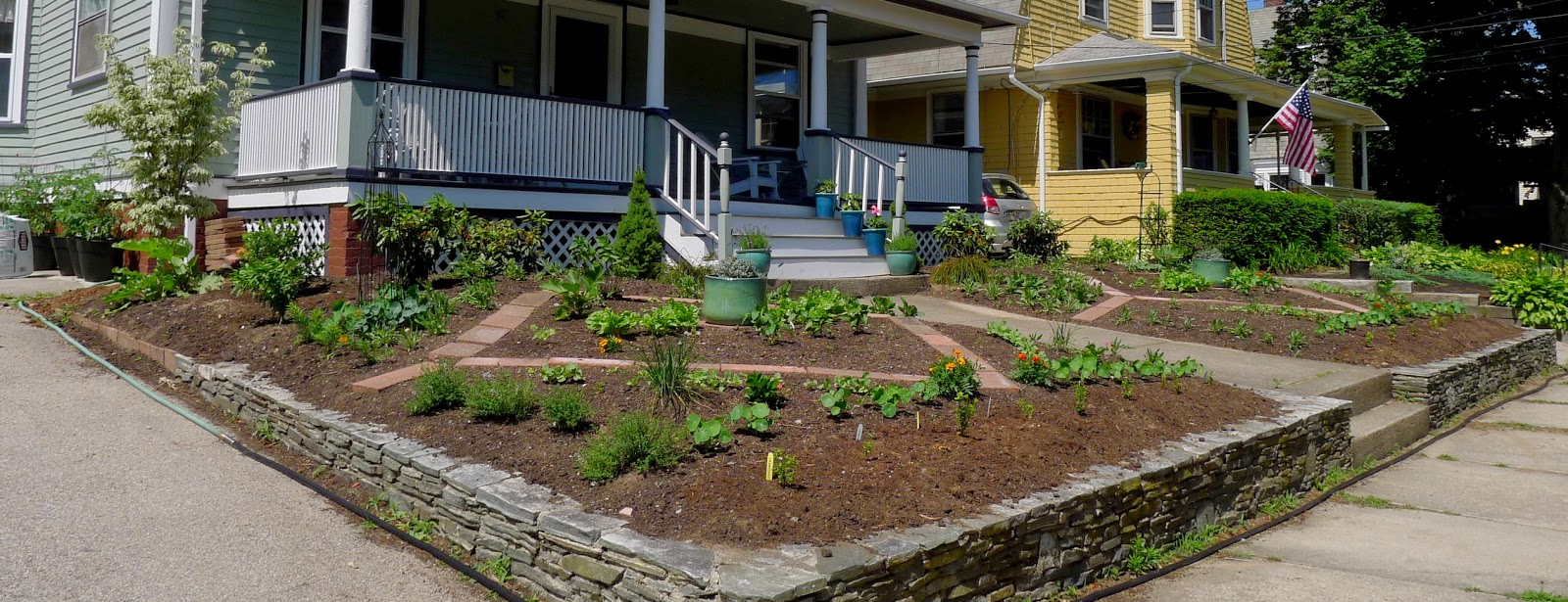 Less Noise, More Green Edible Landscaping Project, including vegetables in edible landscaping