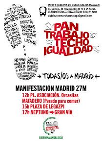 """Marchas de la Dignidad a Madrid """"Pan, Techo, Trabajo e Igualdad"""""""