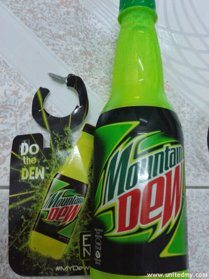 Mountain Dew Neon Bottle