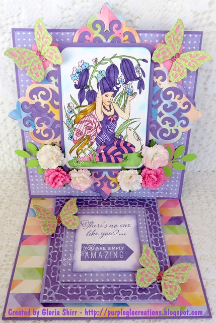Featured Card Paper Nest Dolls Challenge