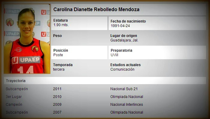 Carolina Rebolledo UPAEP