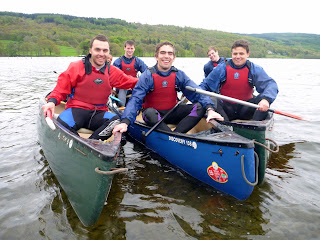 Introductory Canadian Canoeing Sessions in The Lake District.
