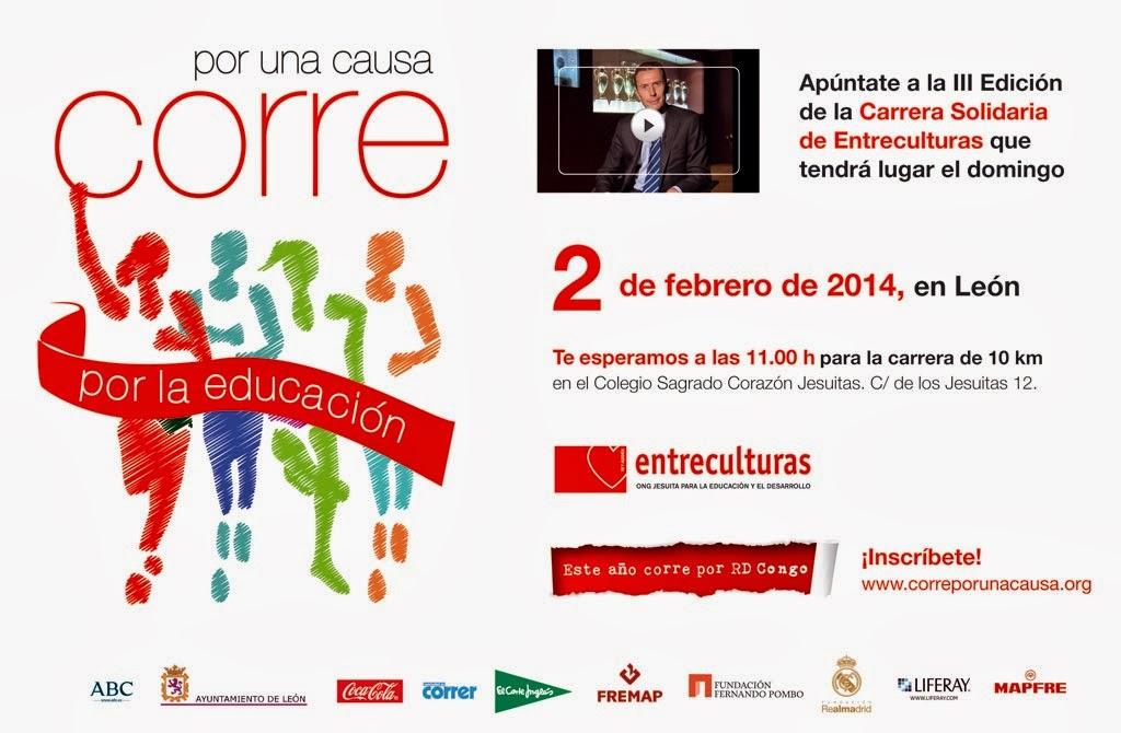 Inscripcion Carrera Solidaria Entreculturas Leon 2014