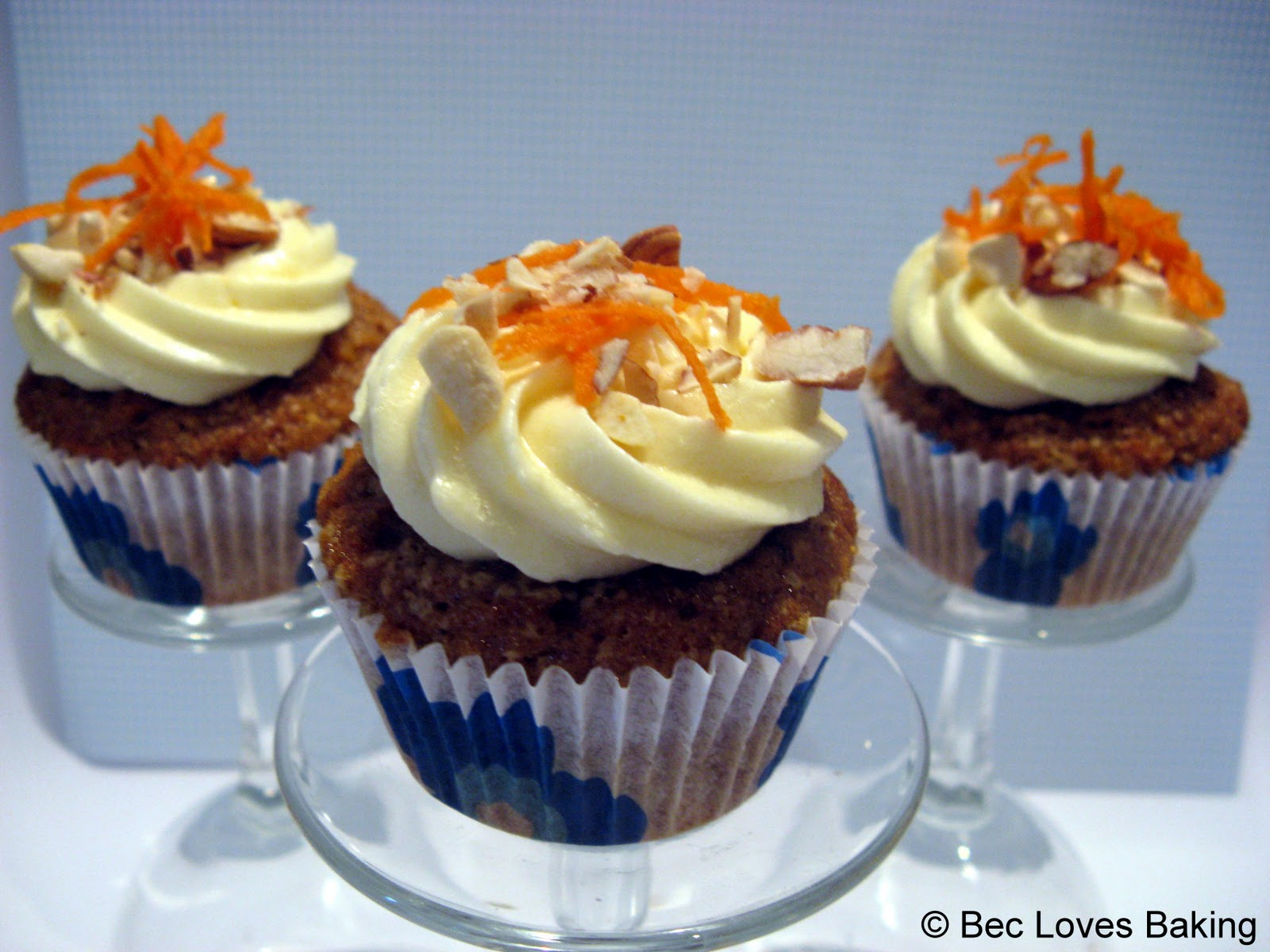 Carrot Cupcakes With Brown-Butter Cream Cheese Frosting Recipes ...