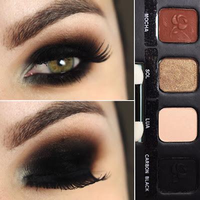 olho preto esfumado feito pela bruna tavares do blog pausa para feminices