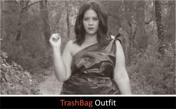 ¡Póngame una bolsa de basura XL! TrashBag Outfit