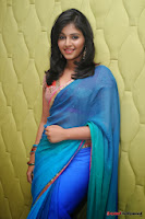 actress anjali hot saree photos at masala telugu movie audio launch+(20) Anjali Saree Photos at Masala Audio Launch