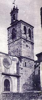 Candelario salamanca Iglesia parroquial