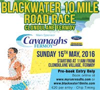 Blackwater 10 Mile nr Fermoy...Sun 15th May 2016
