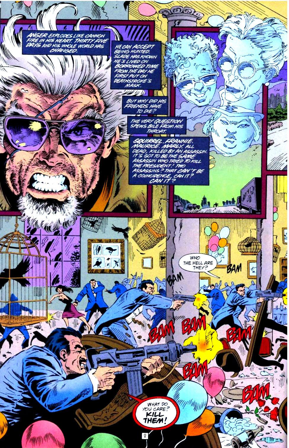 Deathstroke (1991) Issue #43 #48 - English 3