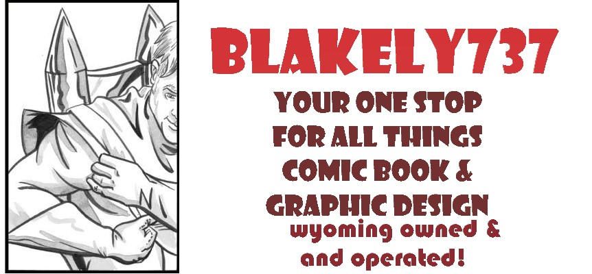 Blakely737 Art&Graphic Design&Comic Bookery