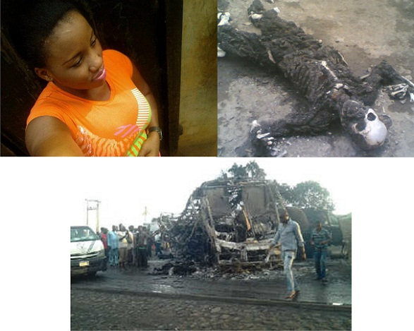 5 members of Mbachu family burnt beyond recognition at the Benin Ore Fire incidence chioma andy's blog