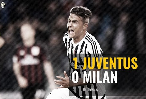 Paulo Dybala ,Man of The Match Juve-Ac Milan