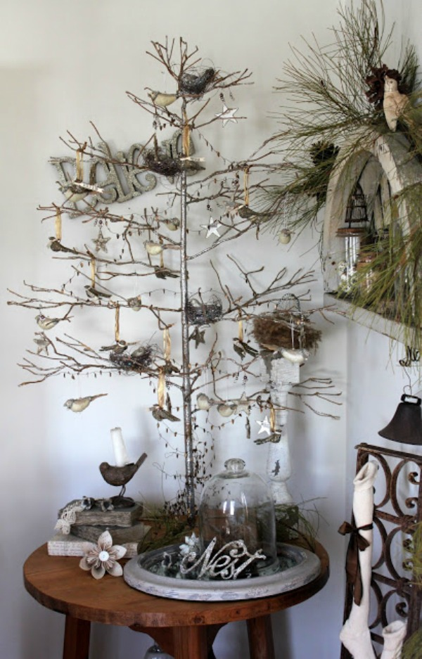 10 Small Space Christmas Trees | COZY LITTLE HOUSE