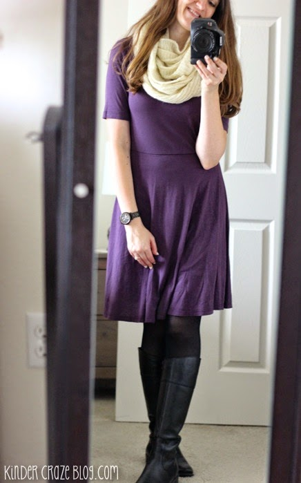 Aleisha fit and flare dress from Stitch Fix