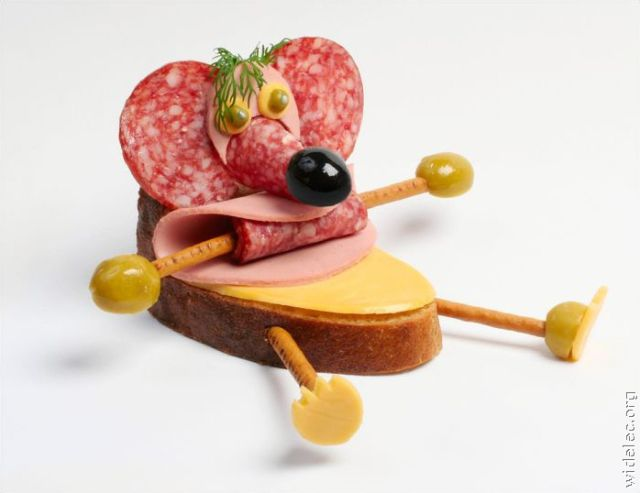 Bizarre Edible & Funny Food Creations Seen On www.coolpicturegallery.us
