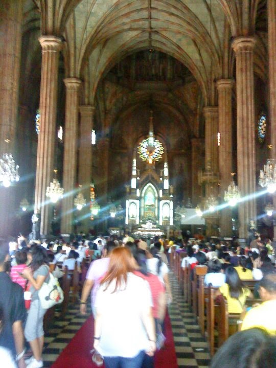 MINOR BASILICA OF SAN SEBASTIAN (Our Lady of Mount Carmel Shrine)