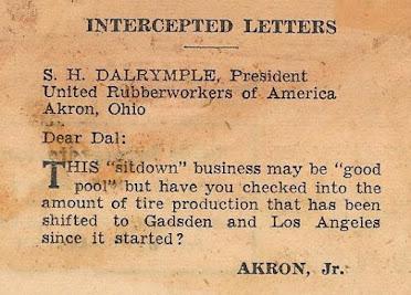 Letter ~