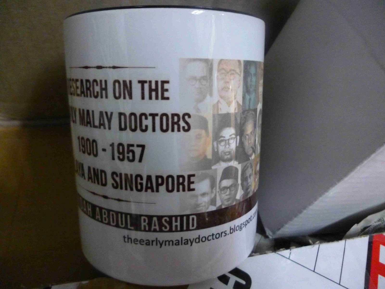 Mug A Research on the Early Malay Doctors