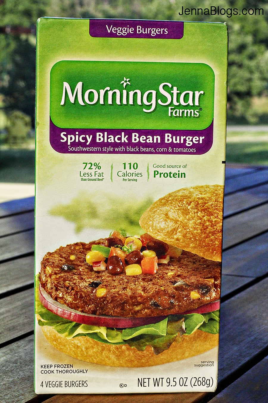Jenna Blogs Spicy Black Bean Tostada A Giveaway