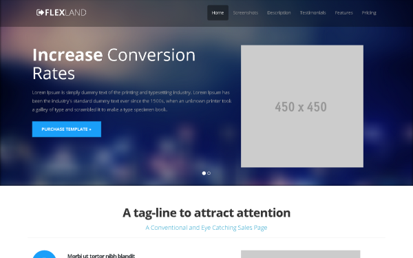 45 Best Bootstrap 3 New Themes and Templates | Social Media And ...