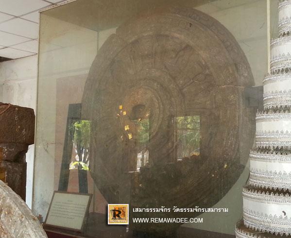 พระพุทธรูปปางไสยาสน์วัดธรรมจักร์เสมาราม จ.นครราชสีมา