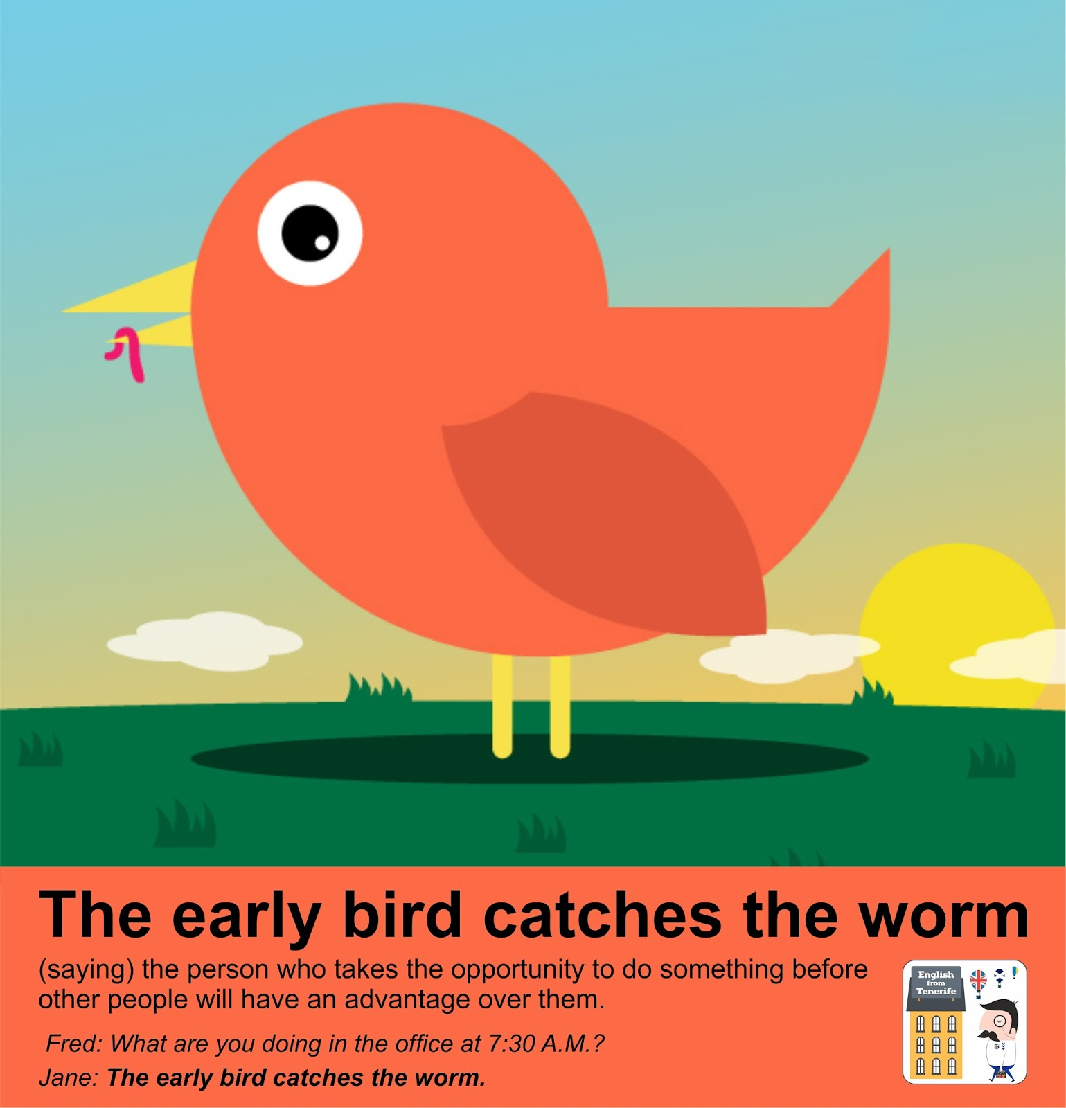 an early bird catches the worm Dictcc german-english dictionary: translation for the early bird catches the worm.