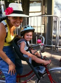 El peque o castillo silla delantera para bicicleta - Silla portabebes bicicleta ...