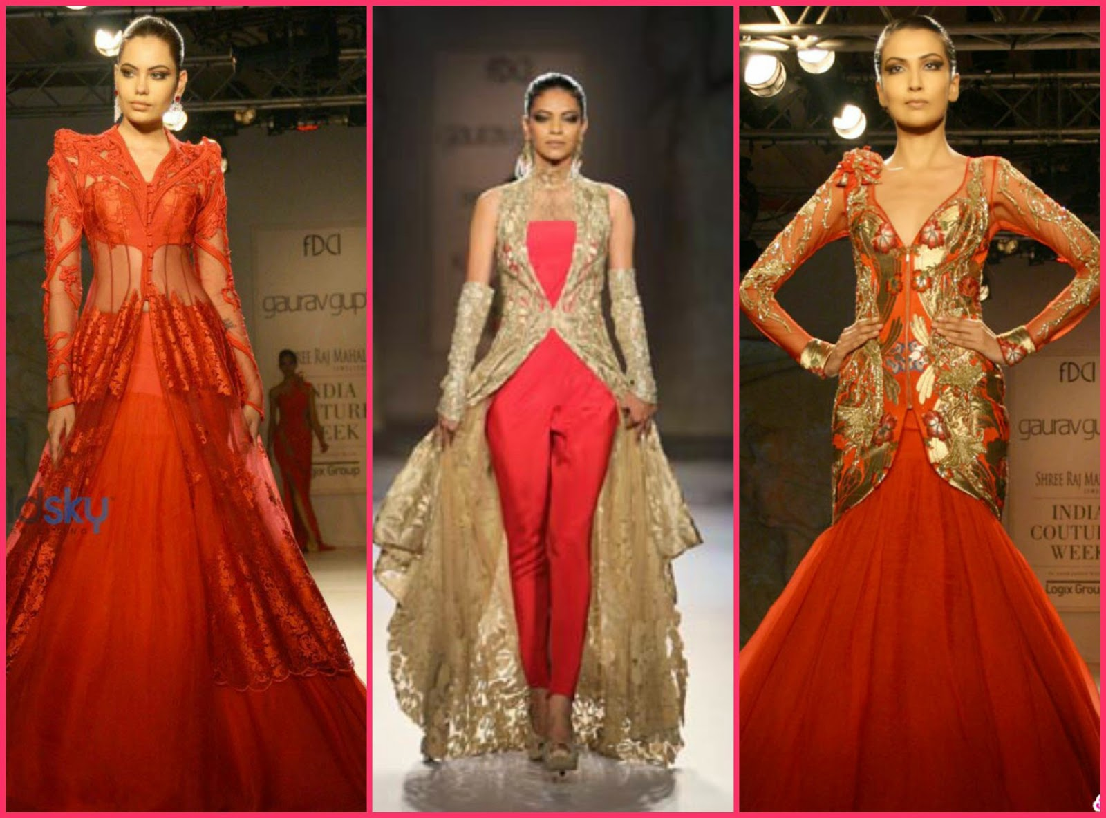 Gaurav gupta indian couture week 2014