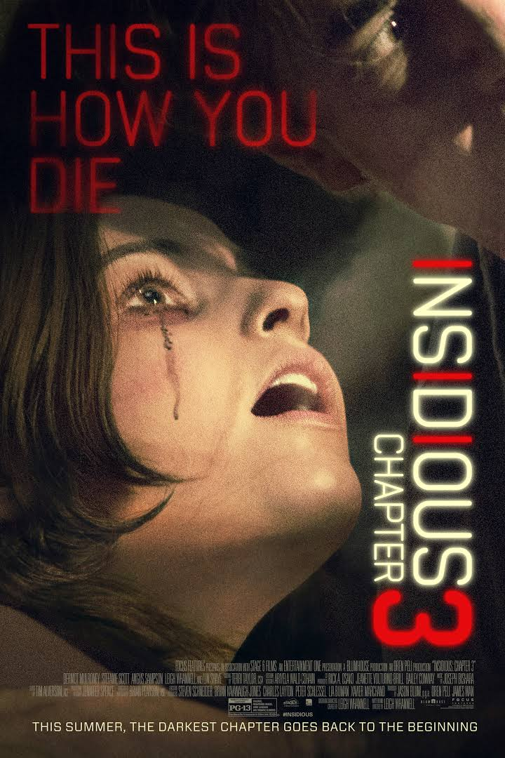 Rage Quit Movies Television Video Games And More Poltergeist Review Insidious Chapter 3 Review