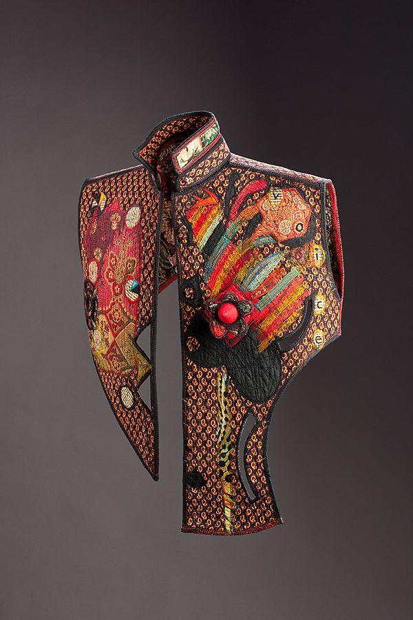 artystyczny quilt