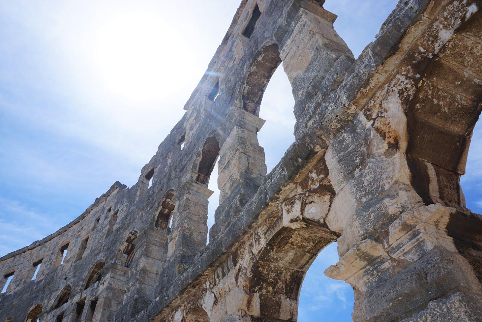 Roman amphitheather, Pula, Croatia
