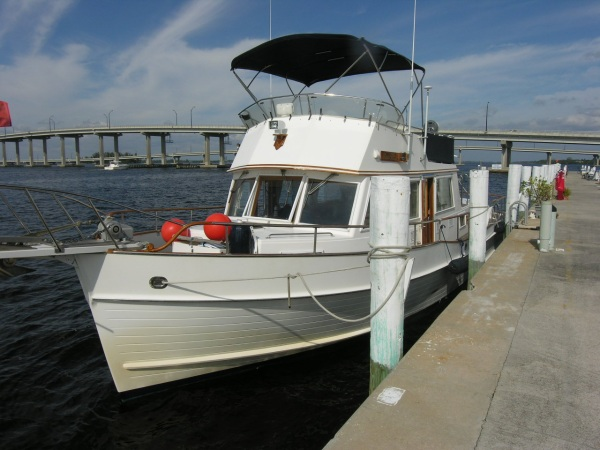 ... a beautiful 1995 42' Grand Banks classic trawler in Fort Myers, FL.