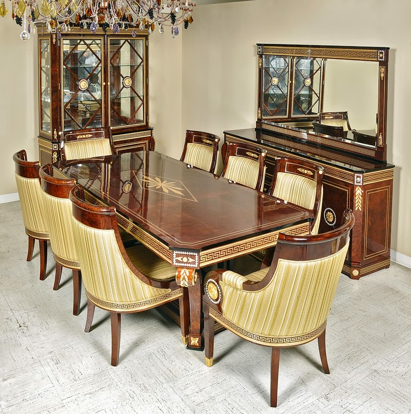 Dining tables luxury designs interior design for Expensive dining tables