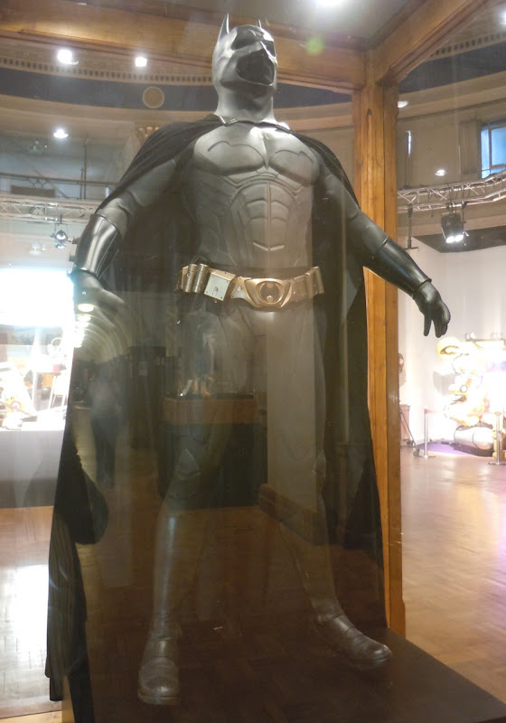 Batman Begins Christian Bale Bat-Suit