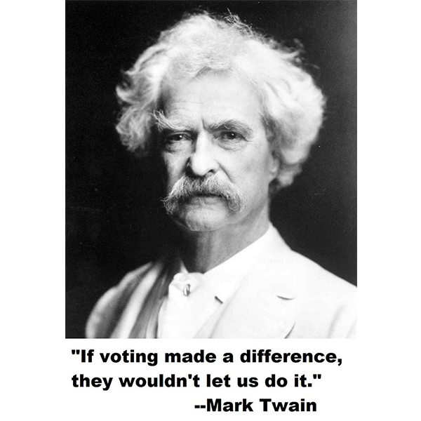 is mark twain a racist The adventures of huckleberry finn has divided i can honestly say that i see no unintentionally placed racism in the mark twain novel that the author did not.