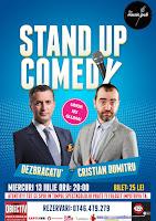 Stand-Up Comedy Bucuresti Miercuri 13 Iulie Braila