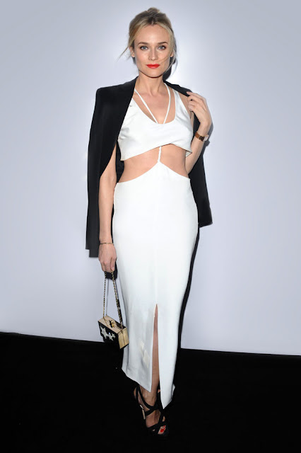 Diane Kruger at the GQ party in Cushnie et Ochs