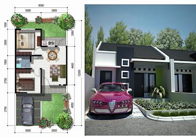 Design Rumah sederhana type 36 dan denah